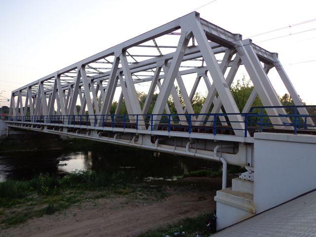 Most Kolejowy w Pomiechówku