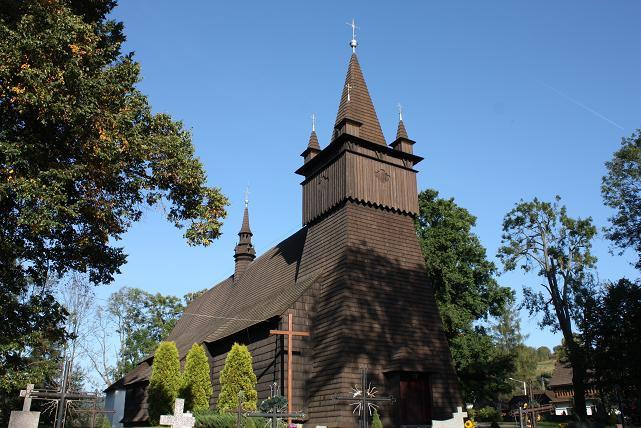 freney 17 - ORAWA - Drewniany kościół w Orawce