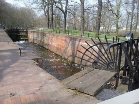 Stary Kanał Bydgoski - Śluza V