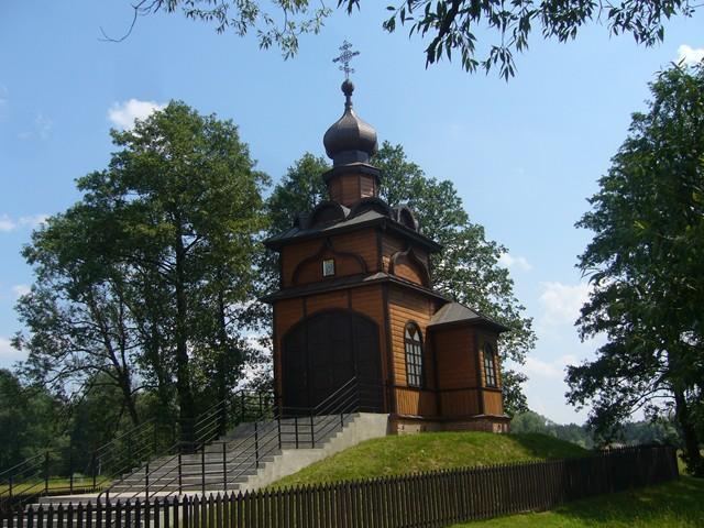 JABŁECZNA - kaplica św. Ducha.