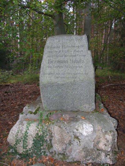 Pomnik niemieckiego leśniczego