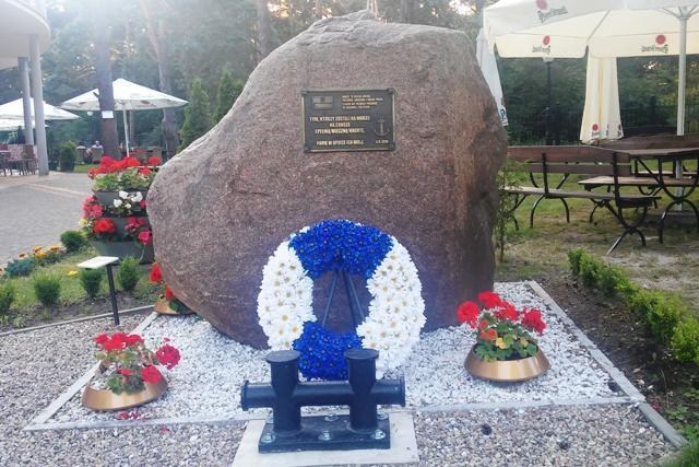 Pomnik - Tym, którzy zostali na morzu...