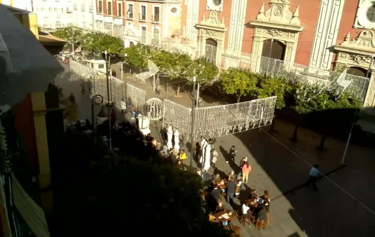 WebCam - Seville, Plaza del Salvador