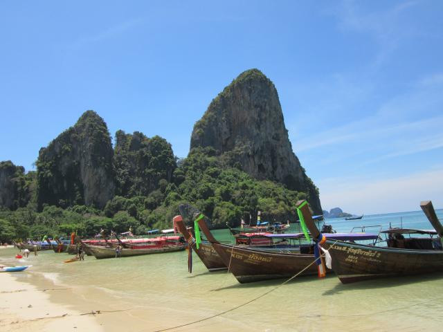 Widok na Railay Beach