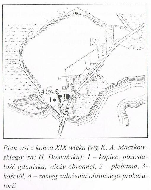 Zamek Krzyżacki w Okartowie