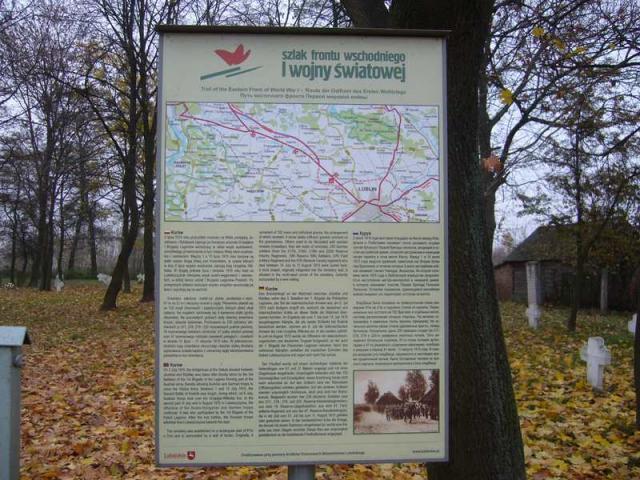 KURÓW - cmentarz z I wojny światowej.