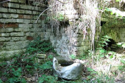 Ruiny schroniska pod Łopiennikiem