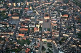 Bytom geometrycznie -środek miasta