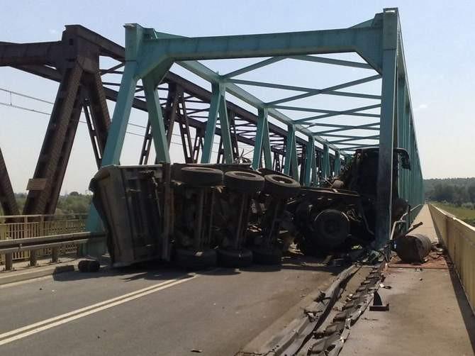 Jedyny podkarpacki most na Wiśle