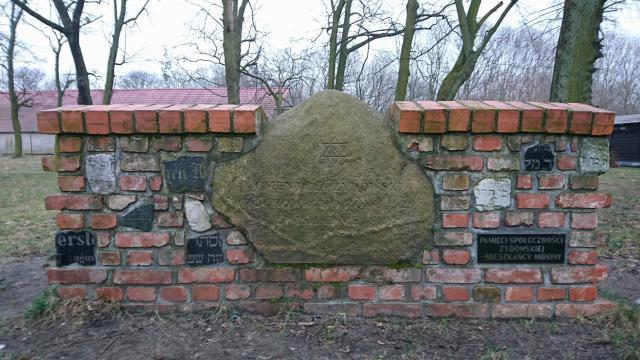 Stary cmentarz żydowski, Mosina בית הקברות היהודי