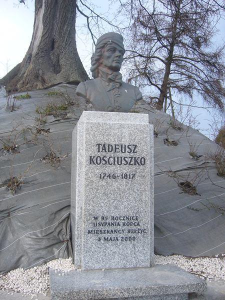 BEŁŻYCE- kopiec T. Kościuszki
