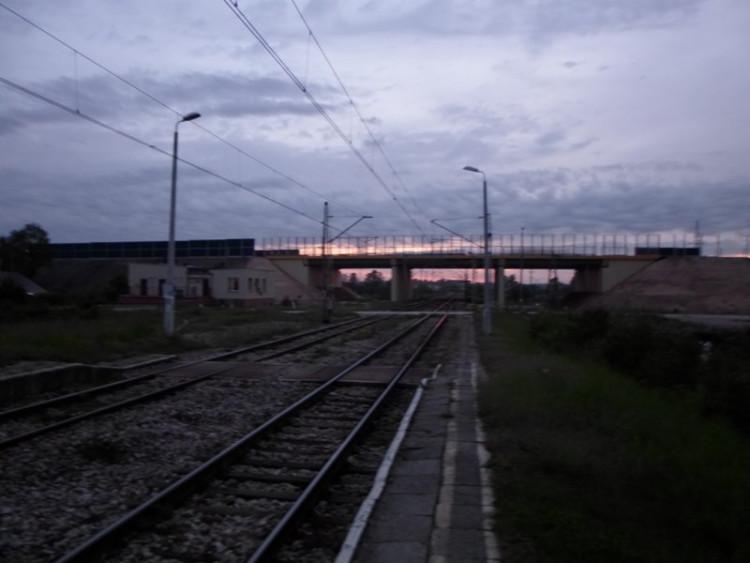 Aby zdążyć na pociąg