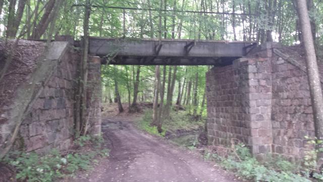 Nieczynny wiadukt w Bruchniewie