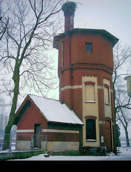 II wieża ciśnień w Drawsku Pomorskim