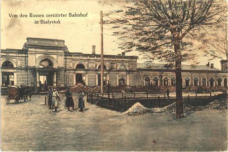 Białostocki dworzec