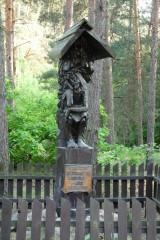 Kapliczka leśnych rowerzystów