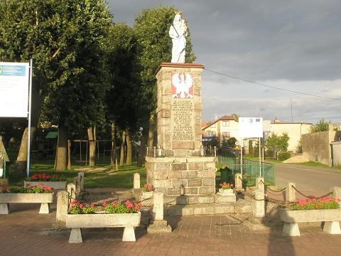 Pomnik w Sierakowicach