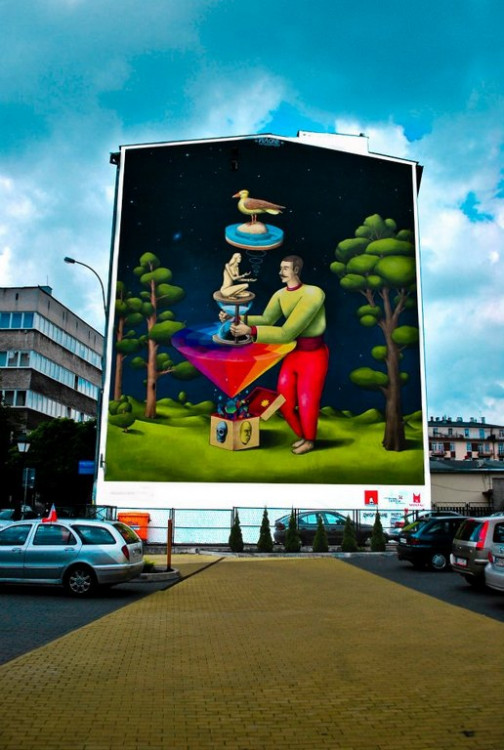 Lubelski Street Art: IX. Waone / Interesni Kazki