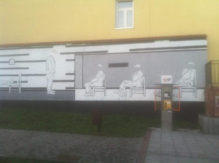 Lubelski Street Art: X. Skwer przy ul. Peowiaków