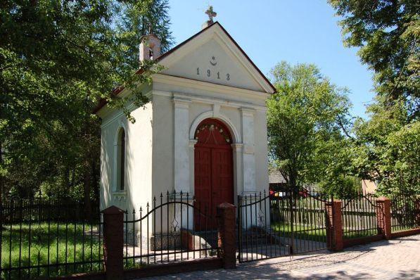 Neobarokowa kapliczka