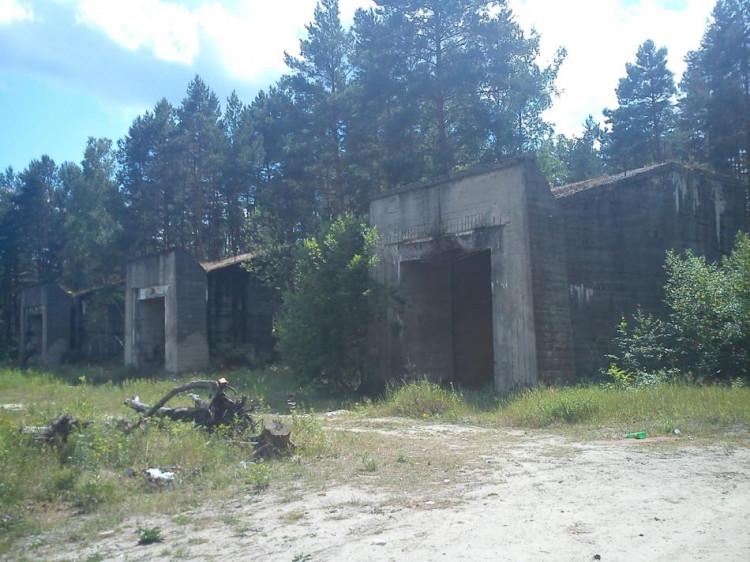Stalowa Wola---stare kulochwyty na byłym terenie huty