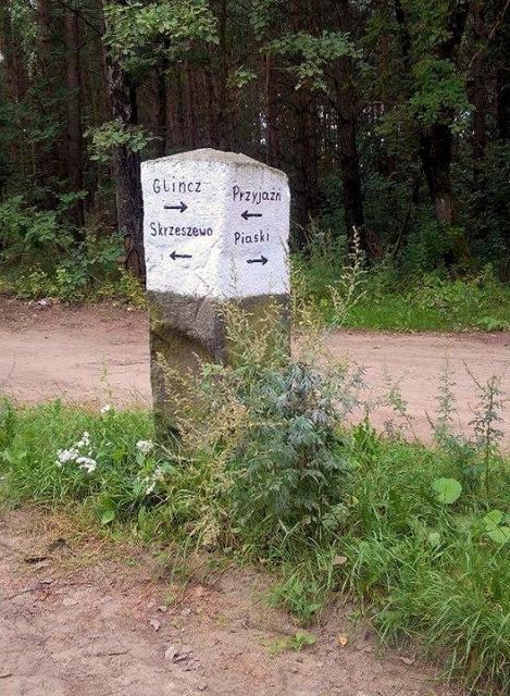 Kaszubskie drogowskazy LXVIII - Przyjaźń - Piaski