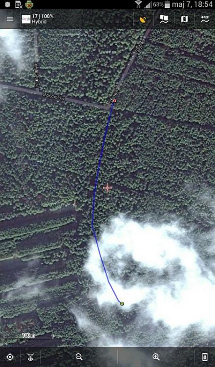 Osiedle Wilga - Na niebieskim szlaku