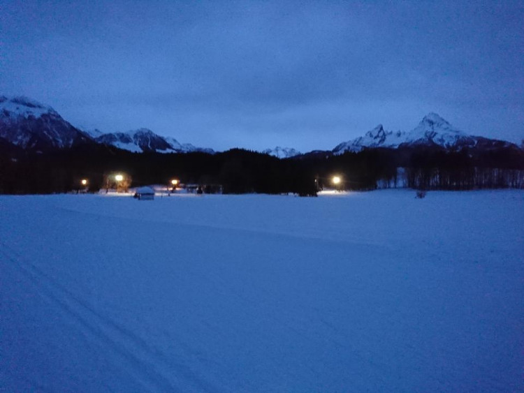 Winterwebcam im Langlaufzentrum Aschauerweiher