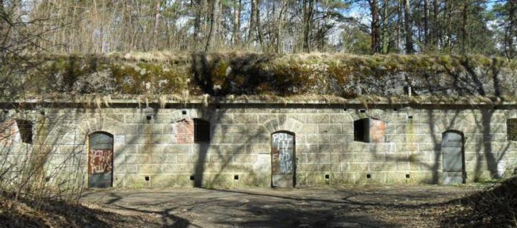 Twierdza Grudziądz - Mały Fort Parski