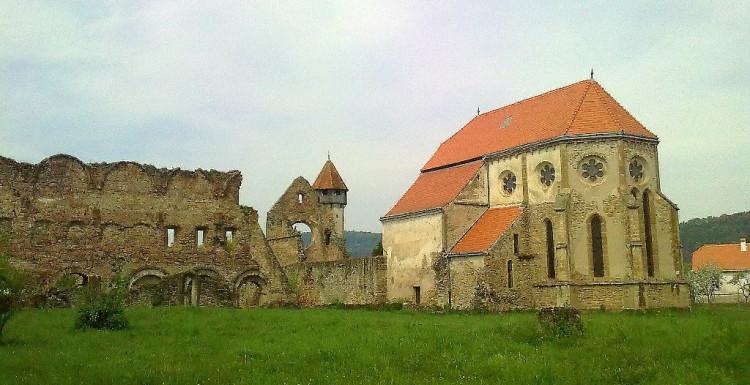Cistercian Fortified Church, in Sibiu County