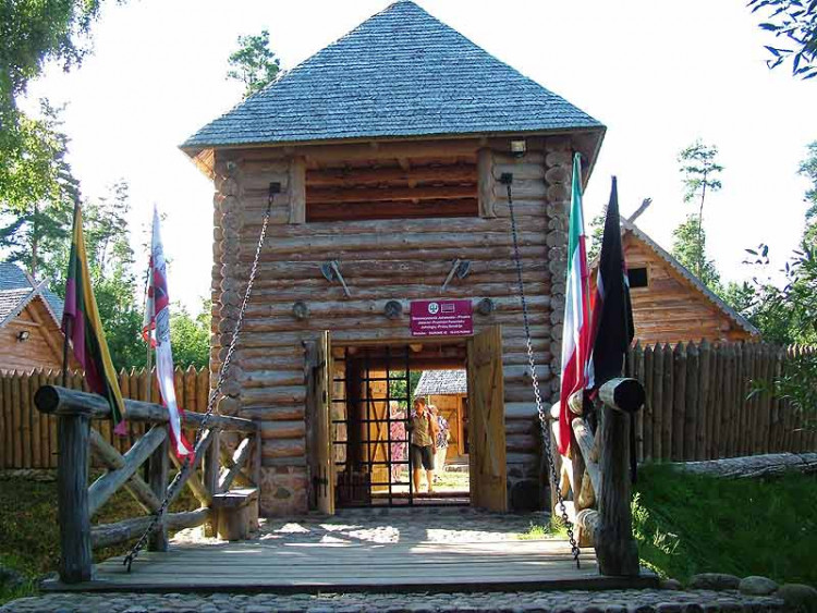 Osada jaćwiesko-pruska w Oszkiniach