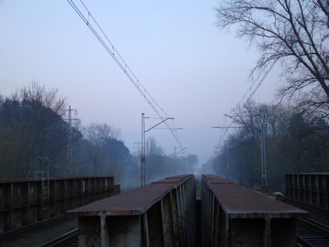 Most kolejowy nad Świdrem