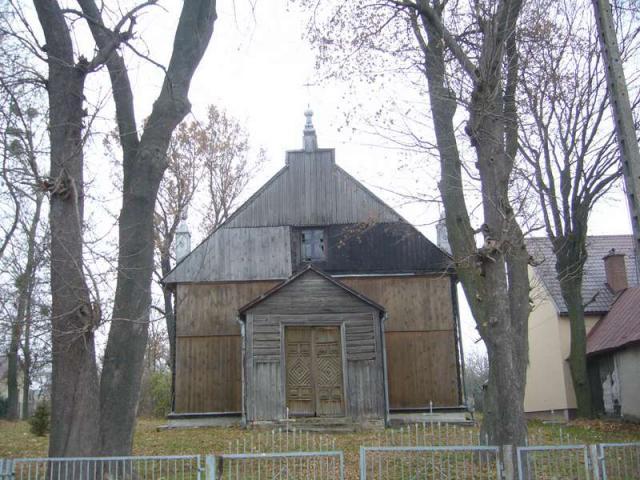 ŁANY - kościół mariawitów.