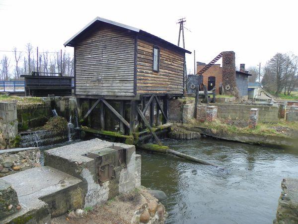 Mała elektrownia wodna w Brudnicach