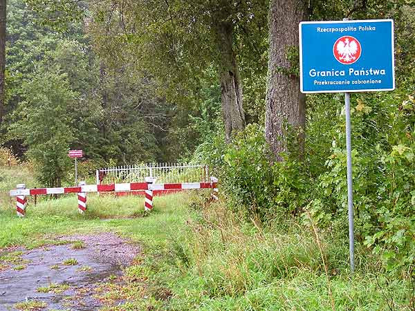 Granica PL-RU w Żytkiejmach