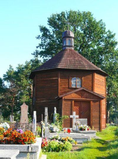 Drewniana Kaplica Cmentarna